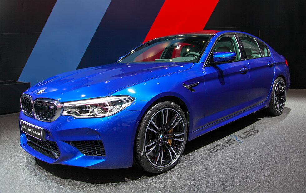 BMW F90 M5 Tuning Files Revised For Bosch MG1CS201 ECU