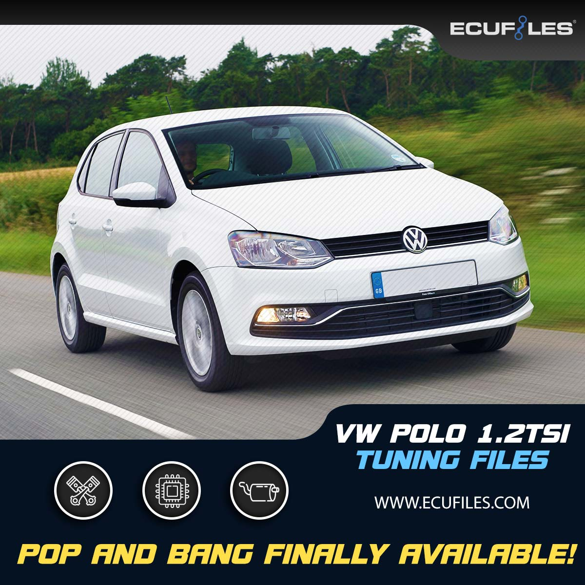 VW Polo 1 2tsi Tuning Files - Pop and Bang Finally Available - Ecufiles