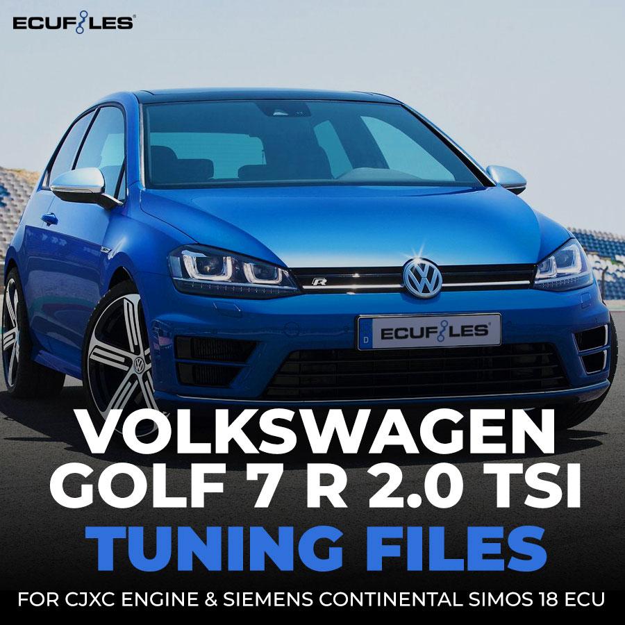Volkswagen Golf 7 R 2 0 TSI Tuning Files Revised For Siemens Simos