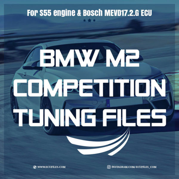 BMW M2 Competition Tuning Files For Bosch MEVD17 2 G ECU