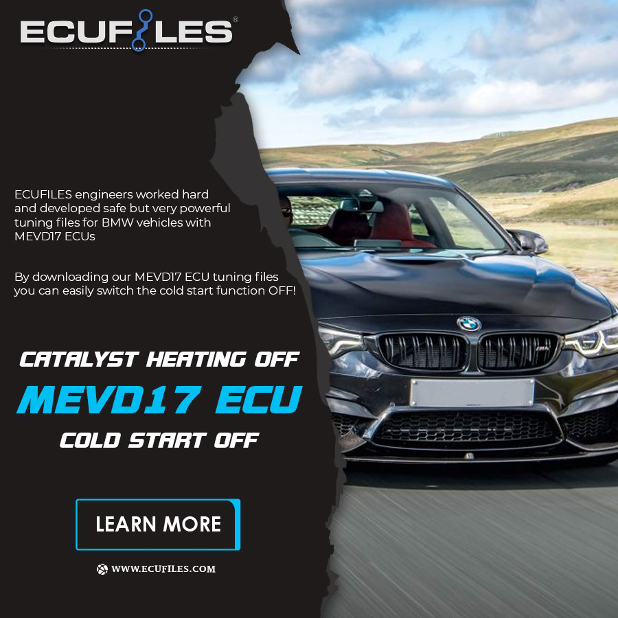 BMW MEVD17 ECU Catalyst Heating Off / Cold Start Off Tuning